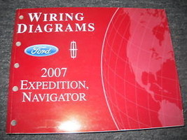 2007 Ford Expedition & Lincoln Navigator Electrical Wiring Diagram Manua... - $49.50