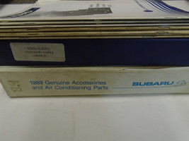 Subaru Parts Catalog Manual Technical Training 9 Volume Set Factory OEM Books - $79.15