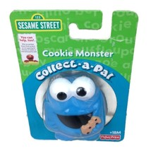Sesame Street Collect-a-Pal Cookie Monster Fisher Price 18+ Months Gift NOS - $9.72