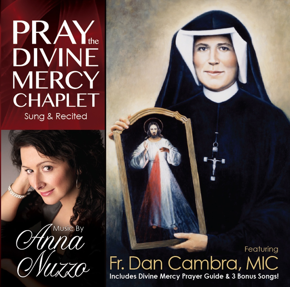 Pray the divine mercy chaplet featuring fr. dan cambra mic   anna nuzzo
