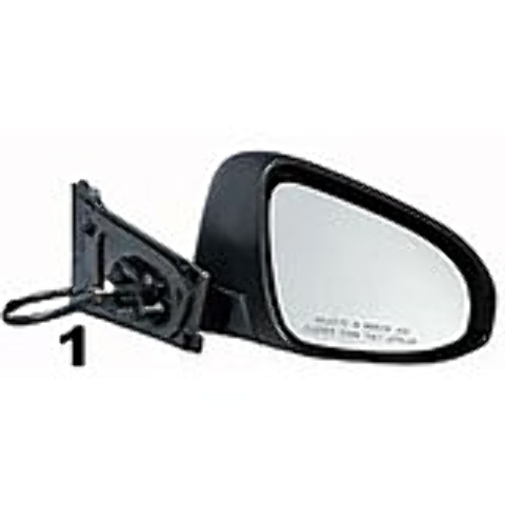 Power Non-Heat Single Arm Rear View Mirror Right Passenger Side For 04-14 Titan