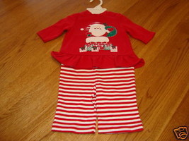 Starting Out 2 piece Christmas hoilday baby 3 Months  3 mos 28.00 NWT ^^ - $12.86