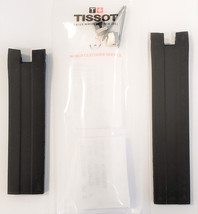 Original Tissot PRS 330 T076417A Black Rubber Watch Band Strap with Pins - $64.99
