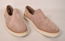 UGG Womens Slip On Shoes Adley Dusty Pink Suede Leather Sneakers 8 1018375 - $67.18 CAD