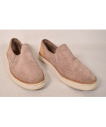 UGG Womens Slip On Shoes Adley Dusty Pink Suede Leather Sneakers 8 1018375 - $49.50
