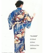 Genuine Japanes Lady Kimono-Imperial Flower Garden 580 - $150.00