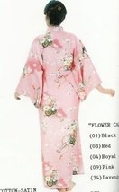 Genuine Japanese Lady Pink Kimono- Flower Cart 560 - $150.00