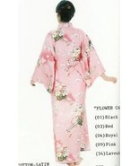 Genuine Japanese Lady Pink Kimono- Flower Cart 560 - $150.00
