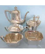Sterling Silver TIFFANY 5 Piece Set-Coffee Pot,Teapot,Sugar,Creamer,Waste 76+toz - $10,000.00