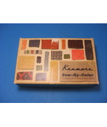 Vintage Sears Kenmore Sew By Color Sewing Machine Attachments In Box 1960 - $23.95