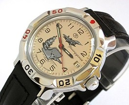 Russian VOSTOK military wrist watch KOMANDIRSKIE 2414 model 811817 - $45.95