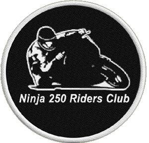 Primary image for Ninja 250 Rider's Club Embroidered Motorcycle Patch