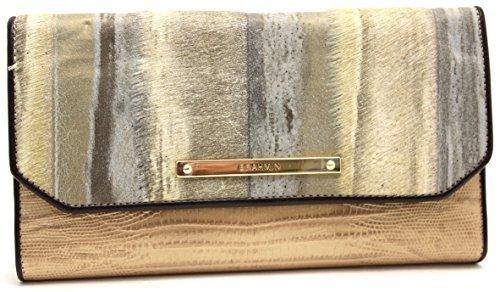 Brahmin Soft Checkbook G44848 (Gold) - $192.06