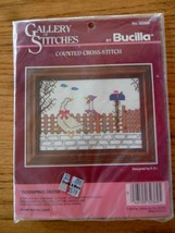 Bucilla Counted Cross Stitch Kit Gossiping Geese #32369 Factory Sealed NEW - $5.00