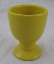 Frankoma Pottery Yellow Gold Goblet 26LC - $14.01