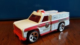 Vintage Hot Wheels White Fire Department Emergency Truck 1974 Rare - $15.00