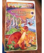 The Land Before Time Little foot Dinosaur Movie Vl X Family Classics Ret... - $20.00