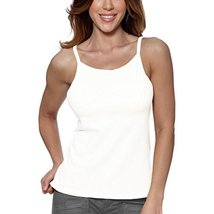Alessandra B Underwire Bra High Neck Camisole (38B, White) - $24.99