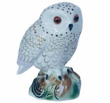 Owl figurine vtg sculpture Bavaria Western Germany W Gerold Porzellan sn... - $74.25