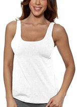 Alessandra B Underwire Sports Bra Tank Top (36B, White) - $29.99