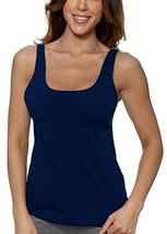 Alessandra B Underwire Sports Bra Tank Top (34B, Navy) - $29.99