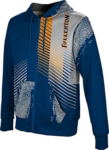 ProSphere Men's Cal State Fullerton Hustle Full-zip Hoodie (Small)