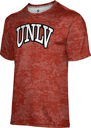 ProSphere Men's University of Nevada Las Vegas Digital Tech Tee (XX-Large)