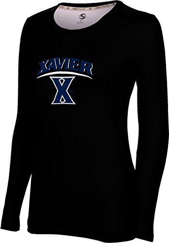 ProSphere Women's Xavier University Deco Long Sleeve Tech Tee (XX-Large)