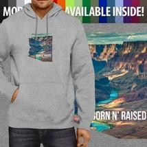 Arizona Born N Raised Grand Canyon State Pullover Hoodie Jacket Hooded Sweater - $25.49+
