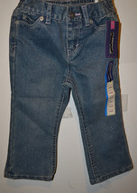 Girls Infant Cherokee Sparkel Jeans Size  24M  NWT NEW - $7.69