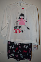 Carters Just One 2-piece Set Toddler Girls Pajamas   SIZE 3T  NWT Im Sno... - $10.39