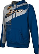 ProSphere Men's Cal State Fullerton Structure Pullover Hoodie (X-Large)