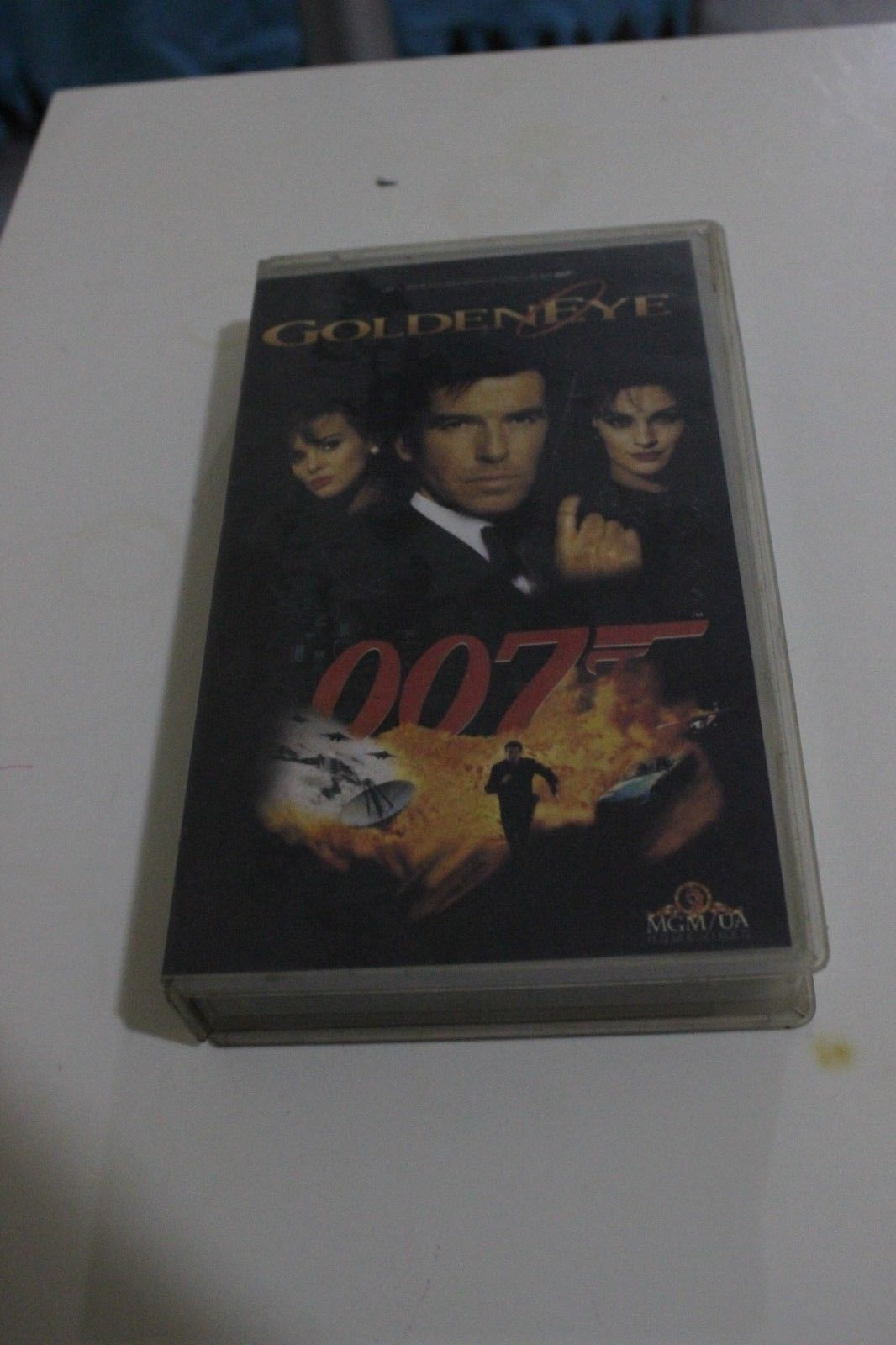 Primary image for JAMES BOND 007 MOVIE EXTREME RARE vhs tape casette cassette TURKISH TURKISCHE