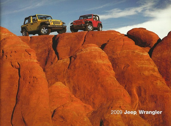 2009 Jeep WRANGLER brochure catalog US 09 Unlimited