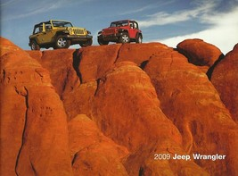 2009 Jeep WRANGLER brochure catalog US 09 Unlimited - $12.00