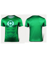 Green Lantern Costume Tee T-Shirt DC Comic Green Lantern Shirt - $9.99