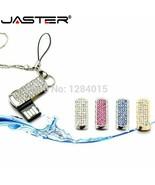 JASTER® Mini Crystal Chain USB Flash Drive Girl's Gift Fashion Mini Pen ... - $6.17+