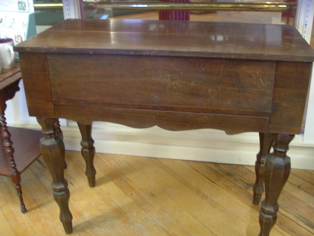Antique Mahogany Spinet Desk And 50 Similar Items - Antique Writers Desk Antique Furniture
