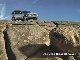 2009 Jeep GRAND CHEROKEE brochure catalog 09 Overland SRT8 - $8.00