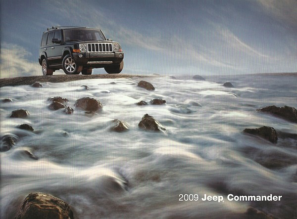 2009 Jeep COMMANDER brochure catalog US 09 Limited Overland