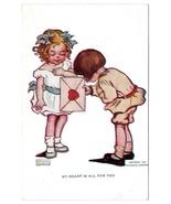 Valentine Katharine Gassaway My Heart is All For You Children Vntg 1906 ... - $4.99