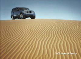2009 Jeep LIBERTY brochure catalog US 09 Sport Limited - $8.00