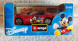 Bburago - Mickey Mouse, Disney Die-Cast Car - 1:43 - New - $7.89