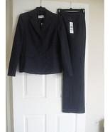 Le Suit Quebec New Dark Plum Three-Button Jacket 2PC Pant Suit   8    $200 - $48.99