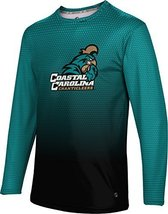 ProSphere Men's Coastal Carolina University Zoom Long Sleeve Tech Tee (Medium)