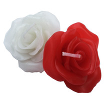 """Red Rose Floating Flower Candles. Wedding Gift Flavor.  Size 2.5"""" Pack o... - $24.99"""