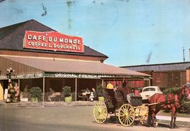 The Cafe Du Monde (vintage 1970s) postcard - $4.00