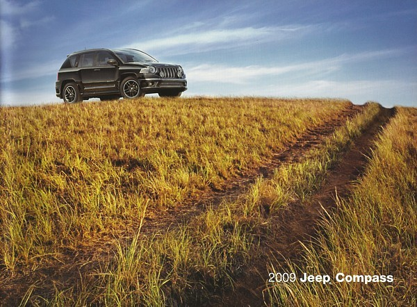 2009 Jeep COMPASS brochure catalog US 09 Sport Limited