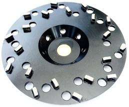 "6"" Diamond cup Wheel Epoxy Glue Mastic Paint Removal 20 Segments 5/8""-7/... - $98.01"