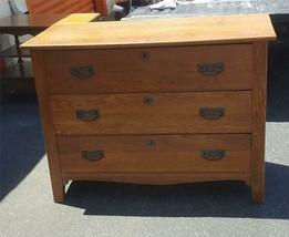 Antique Solid Wood Dresser - VERY OLD - NEEDS TLC - GDC - FABULOUS ANTIQ... - $366.29